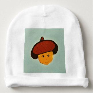 Gorra de la gorrita tejida del bebé de la bellota gorrito para bebe