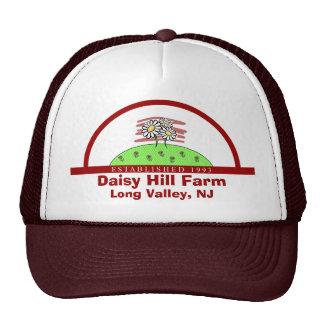 Gorra de la granja de la colina de la margarita