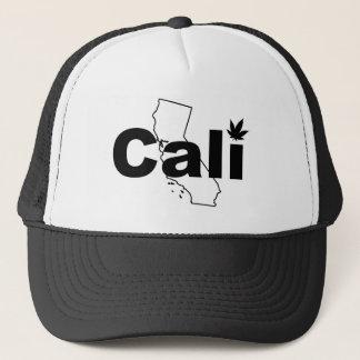 Gorra de la hoja de la mala hierba de Cali