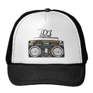Gorra de la leyenda de DJ