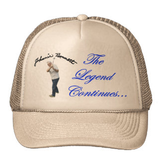 "Gorra de la ""leyenda"" de Johnnie Bennett"