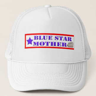 Gorra de la madre de la estrella azul