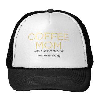 Gorra de la mamá del café