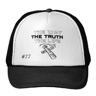 Gorra de la -Manera-Verdad-Y-Vida, #77 - modificad
