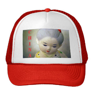 Gorra de la muñeca de China