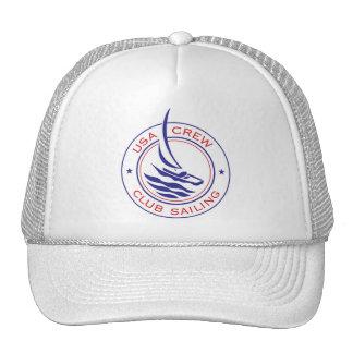 Gorra de la navegación del club del equipo de Patc