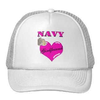 Gorra de la novia de la marina de guerra