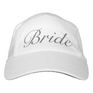Gorra de la novia gorra de alto rendimiento