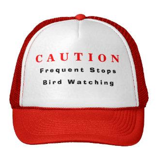 Gorra de la observación de pájaros