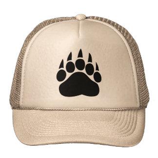 Gorra de la pata del orgullo del oso