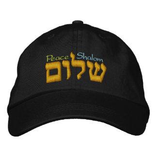Gorra de la paz - Shalom en hebreo
