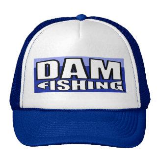 Gorra de la pesca de la presa