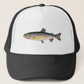 Gorra de la pesca - pescado de la trucha de Tahoe
