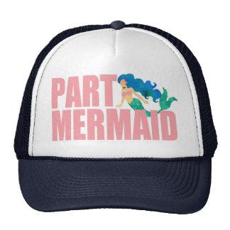 Gorra de la playa del verano de la sirena de la