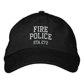 gorra de la policía del fuego