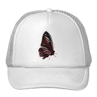 Gorra de la silueta de la mariposa del efecto del
