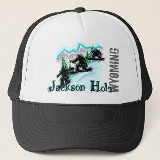 Gorra de la snowboard de Jackson Hole Wyoming