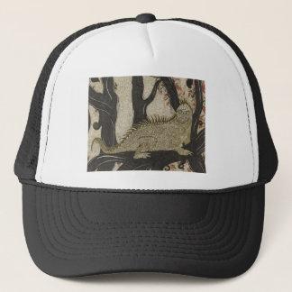 Gorra de la tinta de la iguana