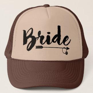Gorra de la tribu de la novia para la novia