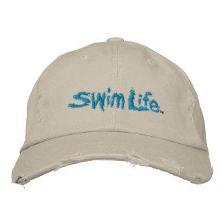 Gorra de la vida de la nadada gorra de beisbol