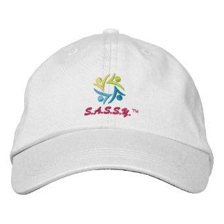 Gorra de las señoras - logotipo de S.A.S.S.Y.