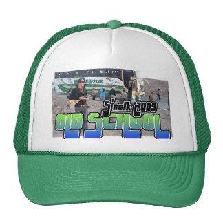 Gorra de los camioneros de la escuela vieja