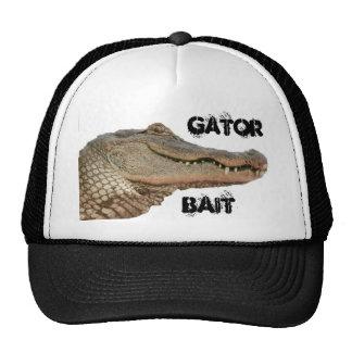 Gorra de los camioneros del cebo del cocodrilo