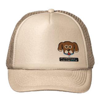 Gorra de los camioneros del tejido del tejido