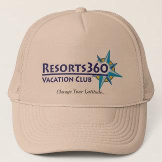 Gorra de los centros turísticos 360 - cambie su