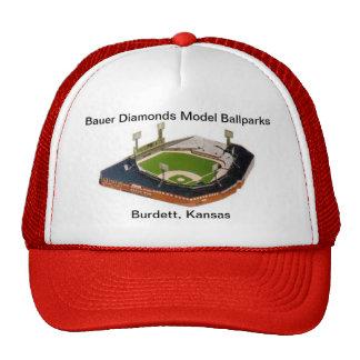 Gorra de los diamantes de Bauer