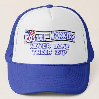 Gorra de los empleados de correos