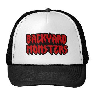 Gorra de los monstruos del patio trasero