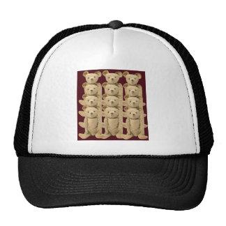 Gorra de los osos de peluche