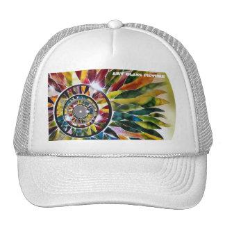Gorra de lujo del camionero de la moda de las hoja