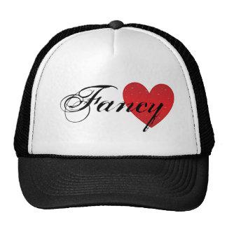 Gorra de lujo del camionero del corazón