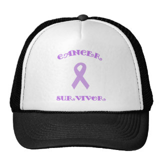 Gorra de lujo púrpura del superviviente