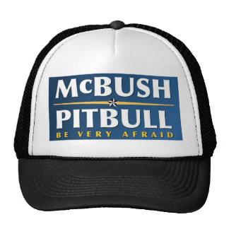 Gorra de McBush y de Pitbull