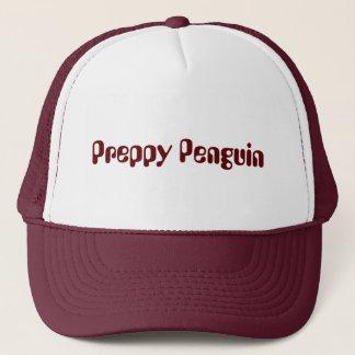 Gorra de muy buen gusto del camionero del pingüino