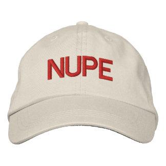 Gorra de NUPE