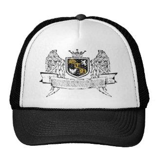gorra de oro del escudo