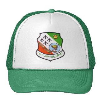 Gorra de oro del logotipo de SABRE de la corona