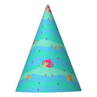 Gorra de papel de las sirenas y de los Seahorses