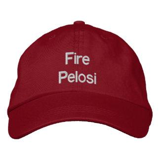 Gorra de Pelosi del fuego