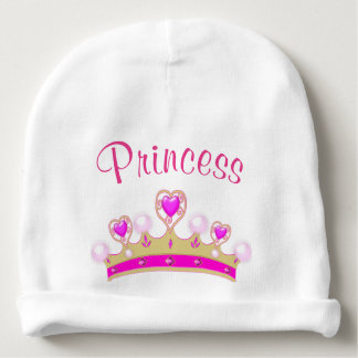 Gorra de princesa Crown Baby Infant Beanie Gorrito Para Bebe
