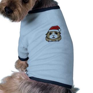 Gorra de Santa de la chinchilla Camiseta De Mascota