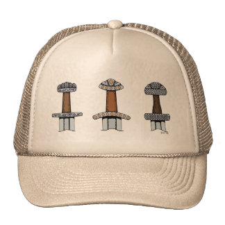 Gorra de tres de Viking puños de la espada