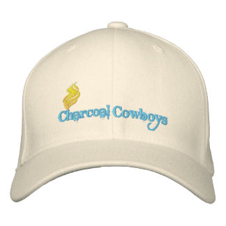 Gorra de vaqueros del carbón de leña