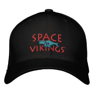 Gorra de Vikingos del espacio Gorras De Béisbol Bordadas
