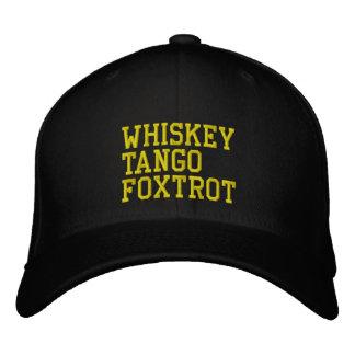 Gorra de WhiskeyTangoFoxtrot (versión militar)