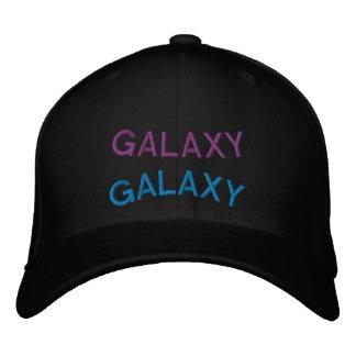 Gorra deformado de la galaxia gorras bordadas